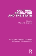 Culture, Education and the State