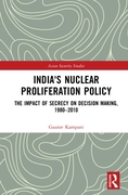India's Nuclear Proliferation Policy