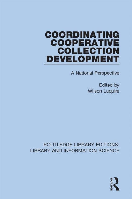 Coordinating Cooperative Collection Deve