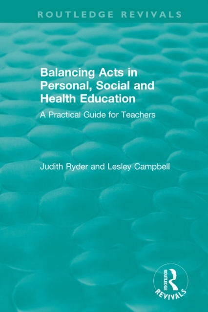 Balancing Acts in Personal, Social and H