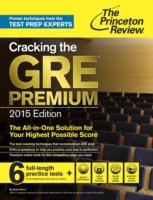 Cracking the GRE Premium Edition with 6
