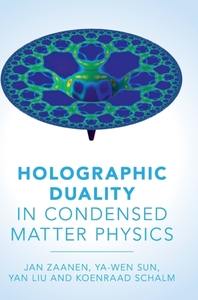 Holographic Duality in Condensed Matter
