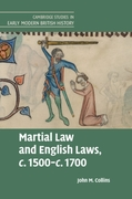 Martial Law and English Laws, c.1500-c.1