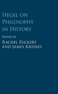 Hegel on Philosophy in History