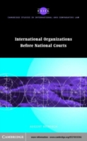 International Organizations before Natio