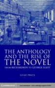 Anthology and the Rise of the Novel