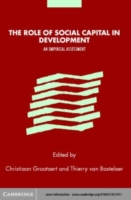 Role of Social Capital in Development