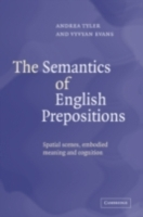 Semantics of English Prepositions