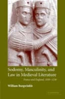 Sodomy, Masculinity and Law in Medieval