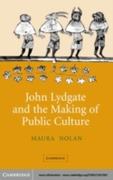 John Lydgate and the Making of Public Cu