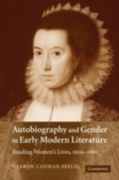 Autobiography and Gender in Early Modern
