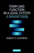 Form and Function in a Legal System