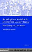 Sociolinguistic Variation in Seventeenth