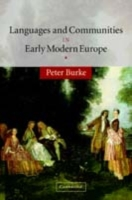Languages and Communities in Early Moder