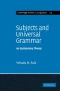 Subjects and Universal Grammar