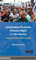 Constitutional Protection of Human Right