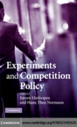 Experiments and Competition Policy