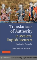 Bilde av Translations Of Authority In Medieval En