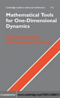 Mathematical Tools for One-Dimensional D