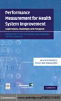 Performance Measurement for Health Syste