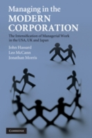 Managing in the Modern Corporation