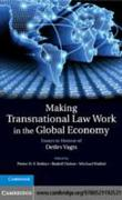 Making Transnational Law Work in the Glo