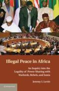 Illegal Peace in Africa