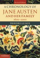 Chronology of Jane Austen and her Family