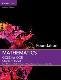 GCSE Mathematics for OCR Foundation Stud