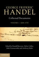 George Frideric Handel: Volume 1, 1609-1