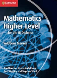 Maths for the IB Diploma