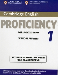 Cambridge English Proficiency 1 for Upda