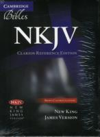 NKJV Clarion Reference Bible, Brown Calf