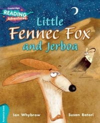 Little Fennec Fox and Jerboa Turquoise B