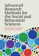 Advanced Research Methods for the Social