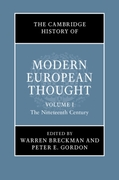 Cambridge History of Modern European Tho