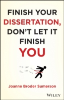 Finish Your Dissertation, Don't Let It F