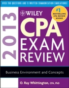 Wiley CPA Exam Review 2013, Business Env