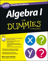 Algebra I: 1,001 Practice Problems For D