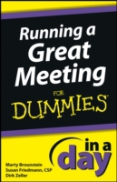 Running a Great Meeting In a Day For Dum