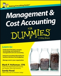 Management and Cost Accounting For Dummi