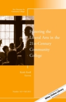Fostering the Liberal Arts in the 21st-C