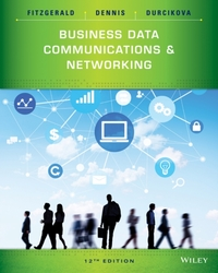Business Data Communications and Network