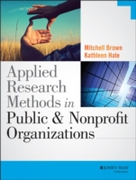 Applied Research Methods in Public and N