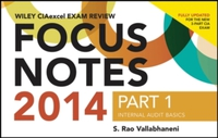 Wiley CIAexcel Exam Review 2014 Focus No