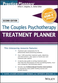 The Couples Psychotherapy Treatment Plan