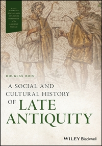 A Social and Cultural History of Late An