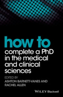 How to Complete a PhD in the Medical and
