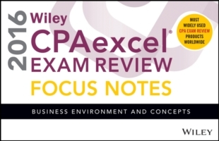 Wiley CPAexcel Exam Review 2016 Focus No
