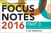 Wiley CIAexcel Exam Review 2016 Focus No